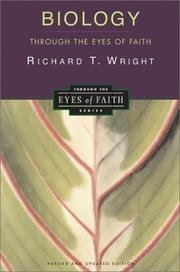 Cover of: Biology through the eyes of faith