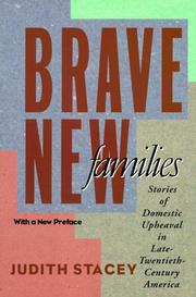Cover of: Brave new families | Judith Stacey
