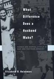 Cover of: What difference does a husband make?