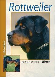 Cover of: Rottweiler