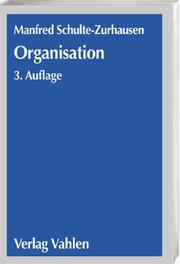 Cover of: Organisation