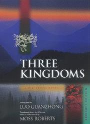 Cover of: Three kingdoms by Luo, Guanzhong