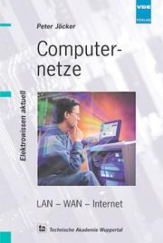 Cover of: Computernetze.LAN-WAN.Internet