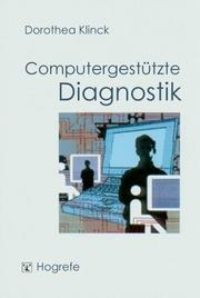 Cover of: Computergestützte Diagnostik