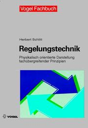 Cover of: Regelungstechnik