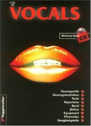 Cover of: Vocals. Inkl. CD