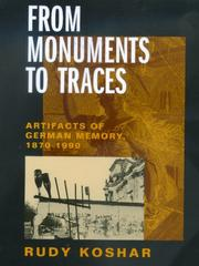 Cover of: From monuments to traces