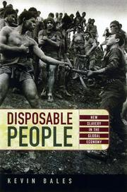 Cover of: Disposable people