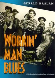 Cover of: Workin' man blues: country music in California
