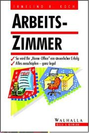 Cover of: Arbeitszimmer