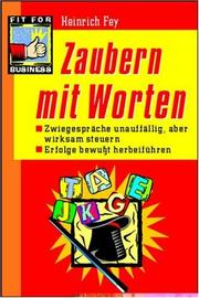 Cover of: Zaubern mit Worten