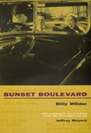 Cover of: Sunset Boulevard