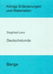 Cover of: Deutschstunde