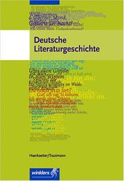 Cover of: Deutsche Literaturgeschichte.