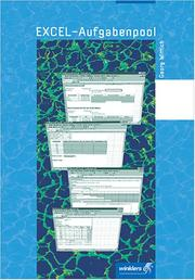 Cover of: Excel- Aufgabenpool. (Lernmaterialien) | Georg Wittich, Ruth Ebert