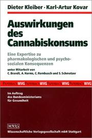 Cover of: Auswirkungen des Cannabiskonsums by