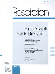 Cover of: From Alveoli Back to Bronchi | Claudio F., M.D. Donner