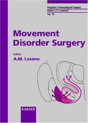 Cover of: Movement Disorder Surgery | Andres M. Lozano