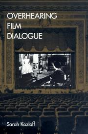 Cover of: Overhearing film dialogue