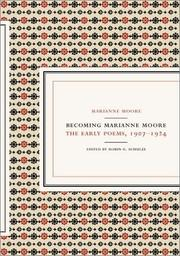 Cover of: Becoming Marianne Moore