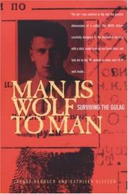 Cover of: Man Is Wolf to Man | Janusz Bardach