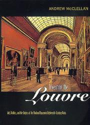Cover of: Inventing the Louvre