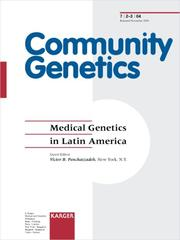 Cover of: Medical Genetics in Latin America | Victor B. Penchaszadeh