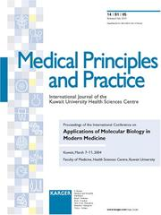 Applications of Molecular Biology in Modern Medicine (Medical Principles and Practice)