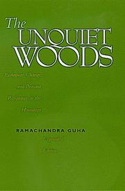Cover of: The unquiet woods