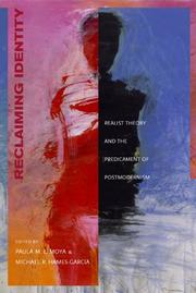 Cover of: Reclaiming identity |