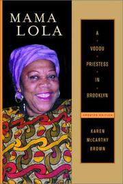 Cover of: Mama Lola | Karen McCarthy Brown