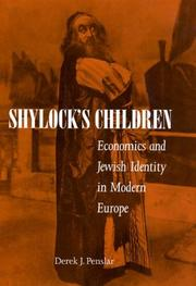 Cover of: Shylock's Children