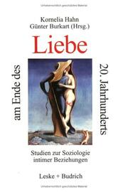 Cover of: Liebe am Ende des 20. Jahrhunderts