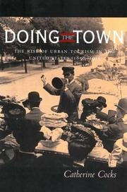 Cover of: Doing the town by Catherine Cocks