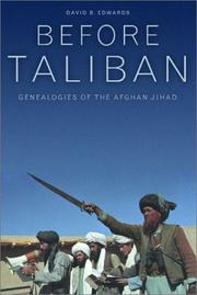 Cover of: Before Taliban