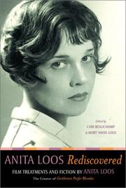 Cover of: Anita Loos rediscovered