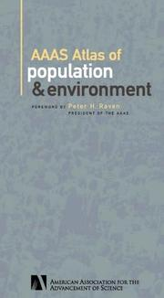 Cover of: AAAS Atlas of Population and Environment | American Association for the Advancement of Science.