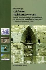Cover of: Leitfaden Steinkonservierung