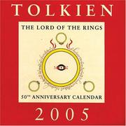 Cover of: Tolkien Calendar 2005: The Lord of the Rings 50th Anniversary Calendar