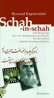 Cover of: Schah-in-schah