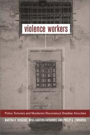 Cover of: Violence Workers | Martha Knisely Huggins