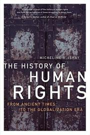Cover of: The history of human rights | Micheline Ishay