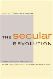 Cover of: The Secular Revolution