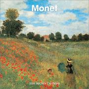 Cover of: The Monet Wall Calendar |