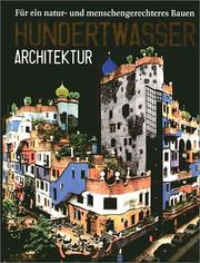 Cover of: Hundertwasser Architektur