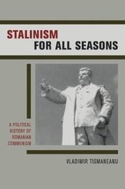 Cover of: Stalinism for All Seasons | Vladimir Tismaneanu