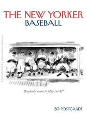 Cover of: The New Yorker: Baseball |
