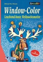 Cover of: Window- Color. Leuchtend-bunte Weihnachtsmotive