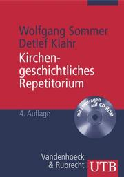 Cover of: Kirchengeschichtliches Repetitorium