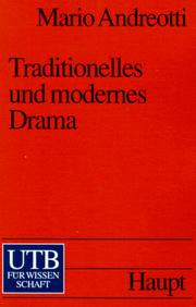 Cover of: Traditionelles und modernes Drama